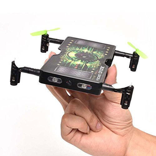 2.4G 4CH RC Folding Pocket Mini Drone Selfie 2.0MP HD Camera
