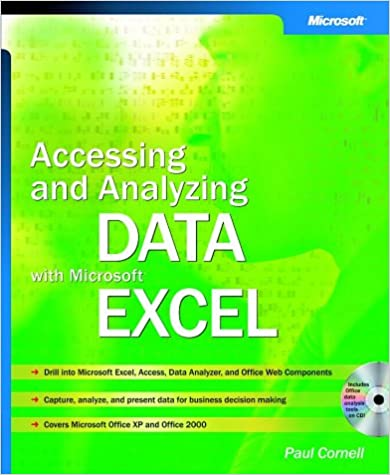 Accessing and Analyzing Data with Microsoft® Excel (Bpg