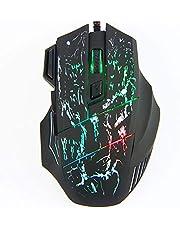 mewmewcat Adaptador para laptop USB Mouse para jogos tipo universal Design ergonômico Fotoeletricidade Multicolor Light Transform Mouse periférico