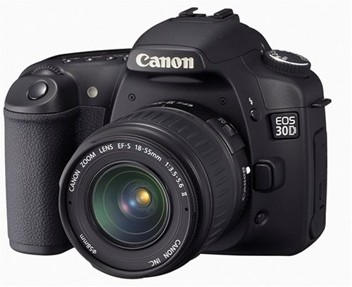Canon Cameras Eos 30d Lens - Canon EOS 30D 8.2MP Digital SLR Camera Kit with EF-S 18-55mm f/3.5-5.6 Lens