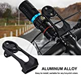 Bicycle Computer Mount Out Front Bike Mount Bicycle Handlebar Computer Mount Holders Stem Extension Bracket for Garmin Edge 200, 500, 510, 800, 810, 1000 GPS Cycling Computers & Sports Camera (Black)