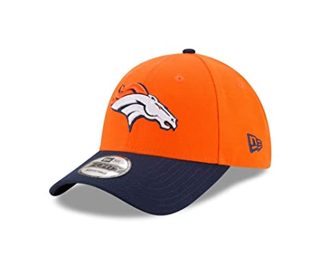 pretty nice 3f51d fe9cb Image Unavailable. Image not available for. Color  New Era Denver Broncos  Youth NFL 9Forty The League Adjustable Hat