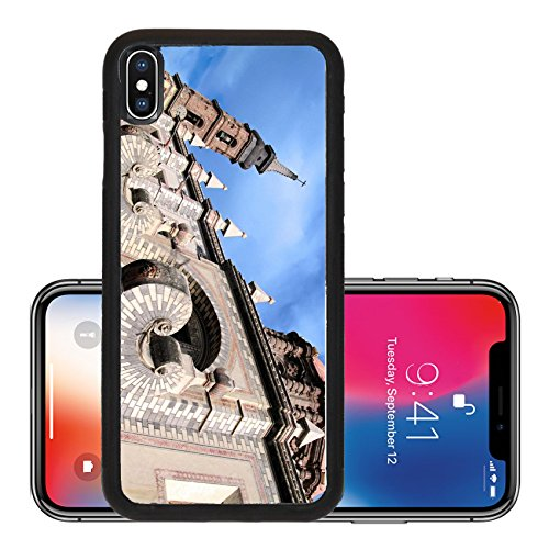 Liili Premium Apple iPhone X Aluminum Backplate Bumper Snap Case 18th century church of Santa Rosa de Viterbo in Queretaro Mexico Photo - Santa Rosa In Stores