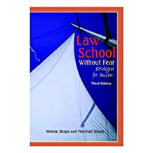 Law School Without Fear: Strategies Forsuccess (Coursebook)