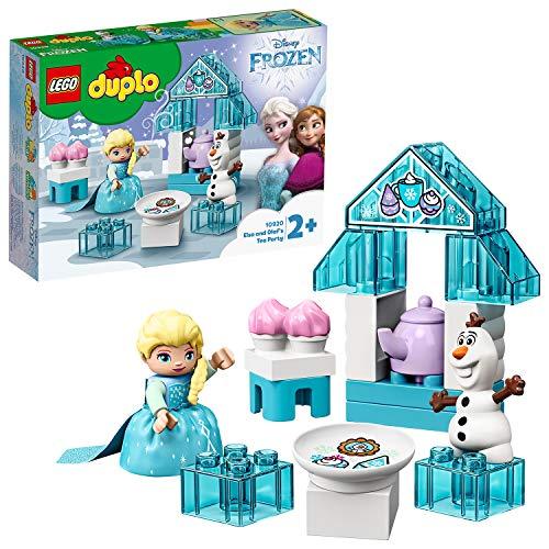LEGO DUPLO │ Disney Frozen speelgoed Elsa's en Olaf's theefeest 10920 Disney Frozen cadeau voor kinderen (17 onderdelen)