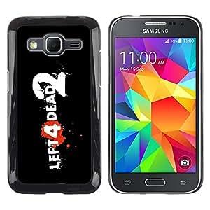 LECELL -- Funda protectora / Cubierta / Piel For Samsung Galaxy Core Prime SM-G360 -- Left Dead --