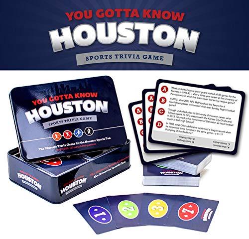 You Gotta Know Houston Sports Trivia Game