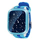 Kids Watch,Hangang Kids Watch GPS GPSTrackerKidsSafeSmartWatchSOSCallLocationFinderLocatorTrackerforChildAntiLostMonitorBabySonWristwatch(blue)