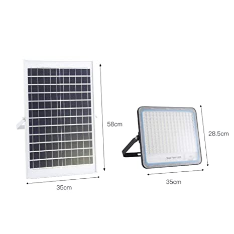 Solar Foco Proyector LED Exterior, Impermeable Estupenda ...