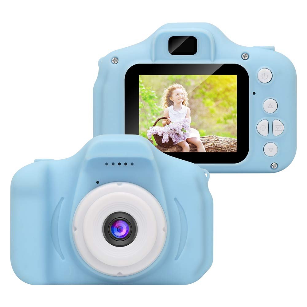 Kids Digital Video Camera Best Birthday Gifts for Boys Age 3-8 , Rechargeable Kids Camera Shockproof 8MP HD Video Cameras Great Gift Mini Child Camcorder (16GB Memory Card Included) by WABOING (Image #2)