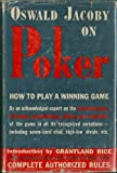 img - for Oswald Jacoby on Poker: How to Play a Winning Game book / textbook / text book