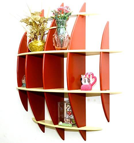 Handicrafts Aayu Wooden Decorative Wall Shelf