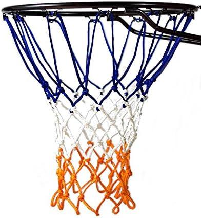 Fandom Nets Ultra Heavy Duty Basketball Net | NCAA & NBA Size | Fits Indoor and Outdoor Hoop/Goal | Basketball Net Replacement for Official Regulation
