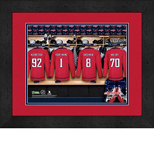 Washington Capitals Locker Room - Prints Charming Locker Room Washington Capitals Framed Posters 16x12 Inches