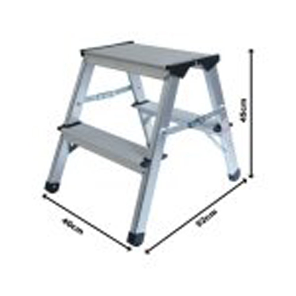 ProDec 45cm Aluminium Step Up Stool Lightweight u0026 Practical Amazon.co.uk Car u0026 Motorbike  sc 1 st  Amazon UK & ProDec 45cm Aluminium Step Up Stool Lightweight u0026 Practical ... islam-shia.org