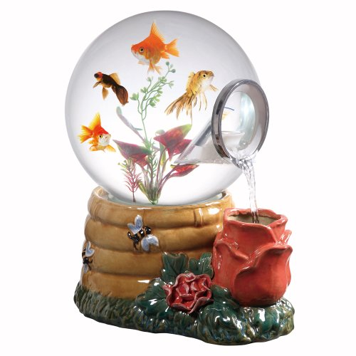 Gallery Fountains (Aquatica Gallery Magic Globe Honey Rose Aquarium, 5-Gallon)