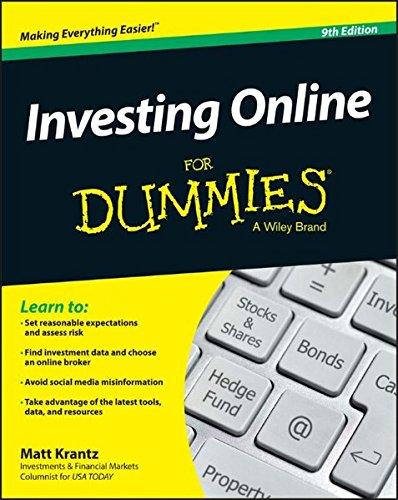 Investing Online Dummies Matt Krantz product image