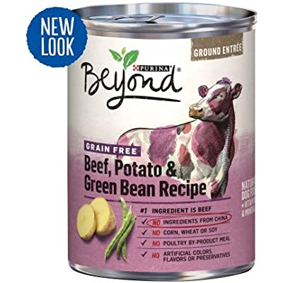 Purina Beyond Grain Free Beef,Potato & Green Bean Recipe (6-CANS) (NET WT 13 OZ Each)
