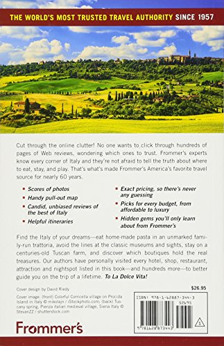 Frommers Italy 2018 (Complete Guides)