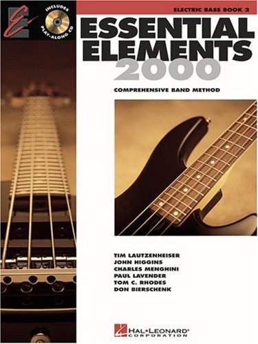 Download Essential Elements with EEI Electric Bass Book 2 pdf