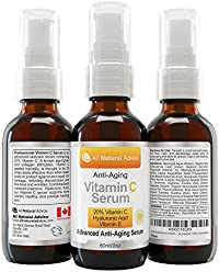 20% Vitamin C Serum - 60 ml / 2 oz Made in Canada