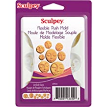 Sculpey APM34 Flexible Push Mold-Art Doll Faces