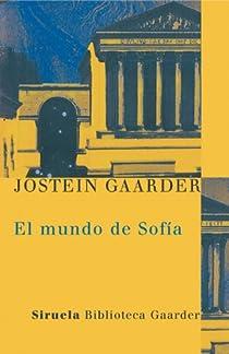 El mundo de Sofía par Gaarder