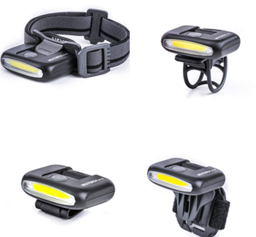 4-IN-1 Rechargeable LED Light with USB 170 Lumen Multi-function Headlamp Clip Light Bike Light Red White Mode For Fishing Running Climbing Biking Outdoor