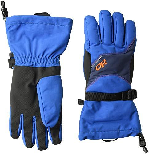 Outdoor Research Men's Adrenaline Gloves, Cobalt/Naval Blue/Burnt Orange, ()