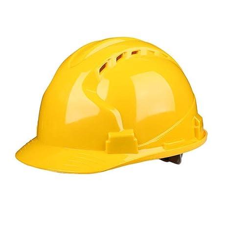 LJFYMX Casco de Seguridad Casco de Trabajo con arnés ventilado de ...