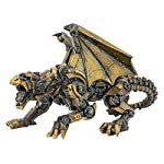 Design Toscano CL6610 Steampunk Gothic Gear Dragon Statue, Bronze 7