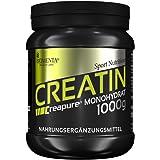 BIOMENTA Creapure KREATIN PULVER 1000g | Deutsche Qualität | VEGAN | Für den Kraftsport als Muskelaufbau Pulver | Creatin Monohydrat/Kreatin Monohydrat