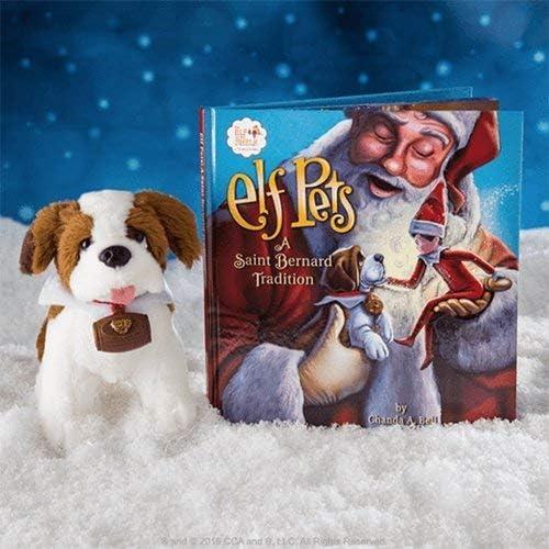 Elf on the Shelf Elf Pets St Bernard Tradition