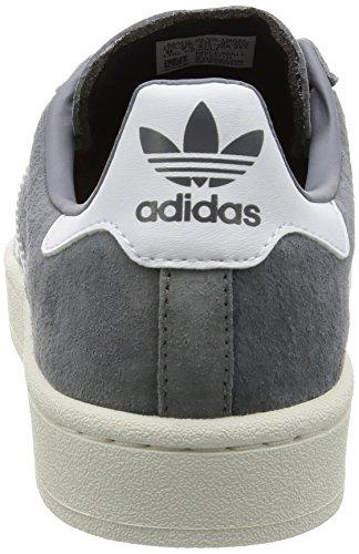 adidas Campus, Zapatillas para Hombre Gris (Grey / Footwear White / Chalk White)