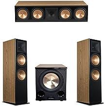 Klipsch 3.1 Cherry System with 2 RF-7 III Floorstanding Speakers, 1 RC-64 III Center Speaker, 1 Klipsch PL-200II Subwoofer