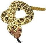Wild Republic Snake Plush, Stuffed Animal, Plush Toy, Gifts for Kids, Western Diamondback 70'