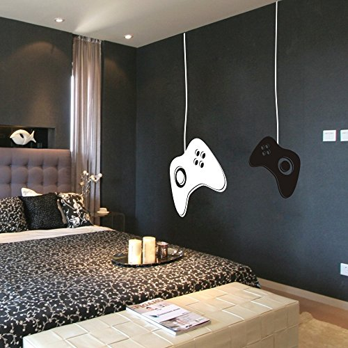 MairGwall Game Controllers Wall Decal - Gamer Wall - Video Game Wall Decals