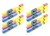 12 Party Pack - Blade Blaster Mini Eliminator Foam Water Gun Easy Light ...