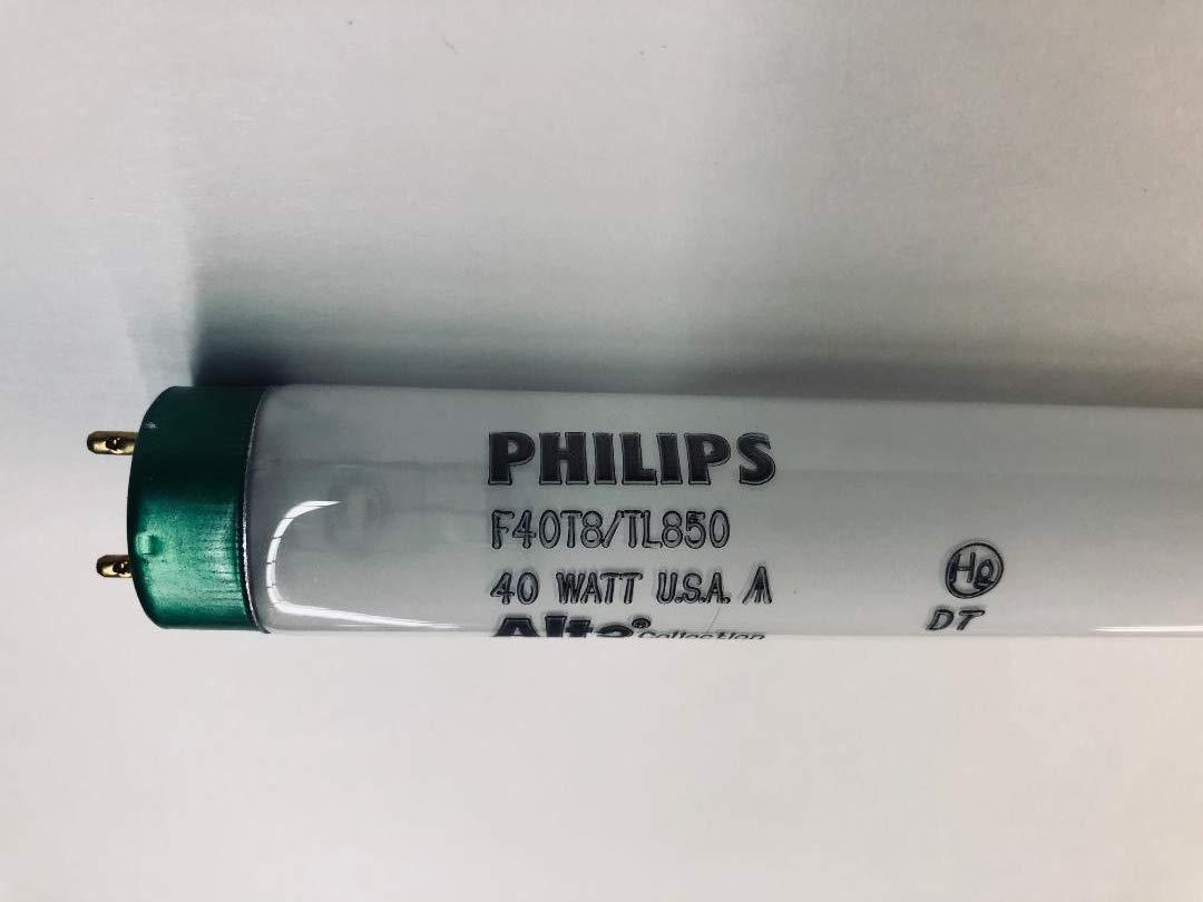 25ピースPhilips 206987 F40t8 / tl850 / Alto 40 Wラピッドスタート電球 B07CX63YHR