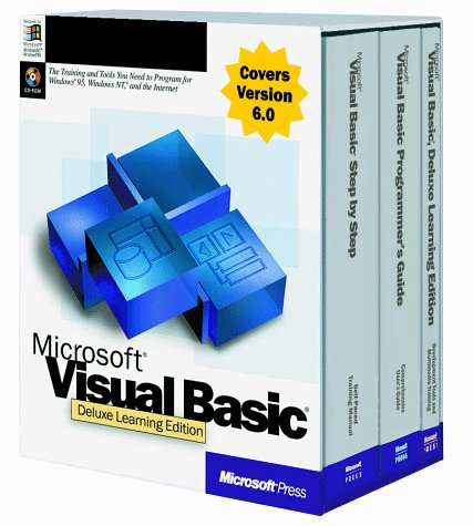 Microsoft Visual Basic 6 0 Deluxe Learning Edition Paperback