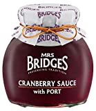 Mrs Bridges Cranberry Sauce with Port, 8.8-Ounce (Pack of 3)