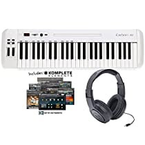 Samson Carbon 49 Keyboard Controller w/Native Instruments' Komplete Elements and Headphones