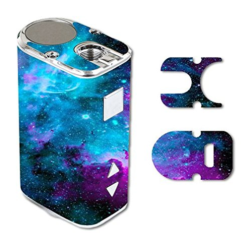 Eleaf iStick 10W Mini Vape E-Cig Mod Box Vinyl DECAL STICKER Skin Wrap / Nebula Galaxy Space Design Pattern Print