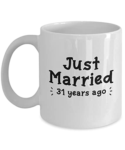 Amazon Com 31st Wedding Anniversary Gifts Just Married 31 Years