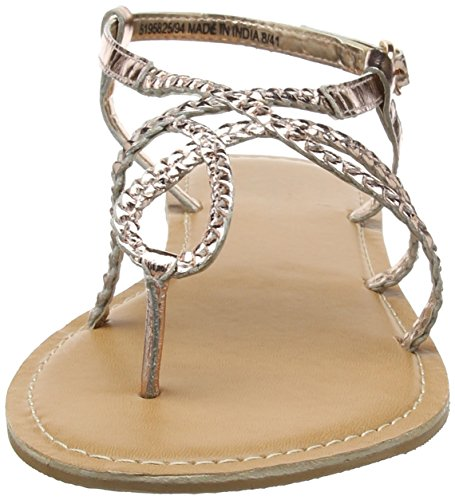 Gold Strap Look Gold Rose Ankle Women's Isabella New Sandals q8PwIZfd
