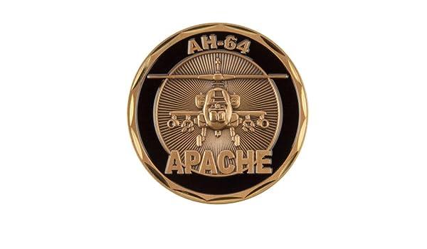 10b3b515 Amazon.com: U.S. Army Equipment Coin (2) - Black Apache OSFM: Clothing