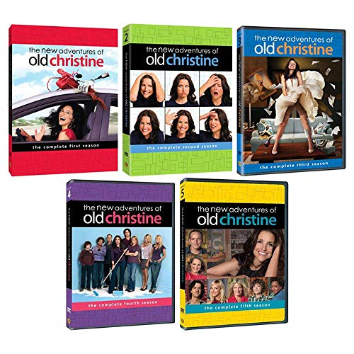 The New Adventures of Old Christine: Complete Series Seasons 1-5 DVD Collection