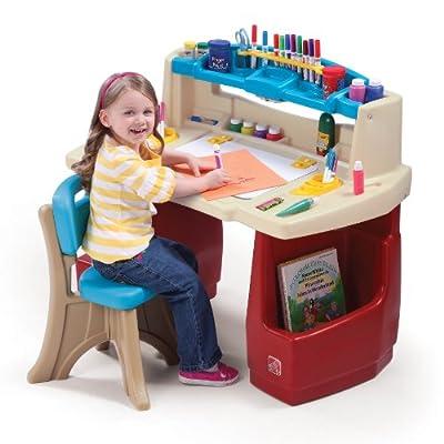 Step2 Deluxe Art Master Desk | Learning Toys