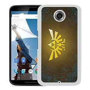 Zelda White Recommended Customized Design Google Nexus 6 Case