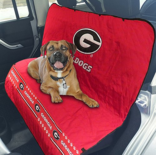 - Pets First Collegiate Georgia Bulldogs Pet Car Seat Cover
